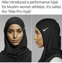 """Black Twitter, Hijab, and Muslims: Nike introduced a performance hijab  for Muslim women athletes. It's called  the """"Nike Pro Hijab"""" thats amazing👏"""