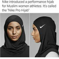 """Lgbt, Love, and Memes: Nike introduced a performance hijab  for Muslim women athletes. It's called  the Nike Pro Hijab"""" I love this ~Ian lgbt lgbtqa lesbian genderfluid genderqueer gay homosexual demisexual polysexual loveislove equality bigender bisexual queer transgender asexual demigirl demiboy genderequality islamophic islamispeace muslim"""