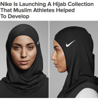 "Memes, 🤖, and Hijab: Nike Is Launching A Hijab Collection  That Muslim Athletes Helped  To Develop ""Both professional and everyday Muslim athletes helped create the Nike Pro Hijab 💪"" @buzzfeednews WSHH"