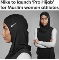 Gooo, Memes, and 🤖: Nike to launch Pro Hijab'  for Muslim women athletes I hate vultures.. why would Nike do this? Isn't this making fun hmmmm what are y'all thoughts? Is it a good thing or bad thing? HONEST OPINIONS ARE ALWAYS WELCOMED DEBATES ARE EXPECTED ND GOOO