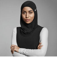 Memes, 🤖, and Hijab: Nike will release its first Pro Hijab for female Muslim athletes. #diplyoriginals