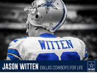 CONGRATS to Jason Witten on his new contract!  Celebrate this #CowboysNation LEGEND with some new Dallas Cowboys Witten gear: http://bit.ly/2ovo0fe: NIKERRO  JASON WITTEN DALLAS CowBoYS FOR LIFE  PRO SHOP CONGRATS to Jason Witten on his new contract!  Celebrate this #CowboysNation LEGEND with some new Dallas Cowboys Witten gear: http://bit.ly/2ovo0fe