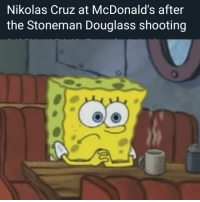 McDonalds: Nikolas Cruz at McDonald's after  the Stoneman Douglass shooting