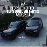 Forget Netflix & chill! Build an empire together🔥 Those are ultimate goals✔️ TAG your business partner below 👇 hardwork netflix success millionairementor: NILLIOARE MANTOR  FORGEL NEIFLIX  LET'S BUILD AN EMPIRE  AND CHILL  @MILLIONAIRE MENTOR  his & her Forget Netflix & chill! Build an empire together🔥 Those are ultimate goals✔️ TAG your business partner below 👇 hardwork netflix success millionairementor