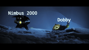 Funny, News, and Old: Nimbus 2000  Dobby Old news