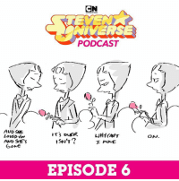 Memes, Music, and Link: NINERSE  PODCAST  AUD SHE  LOVED Yov  AND SHE'S  EPISODE 6 Wait, Rebecca Sugar used to be in a band? 😱 Check out this week's Steven Universe podcast to learn the secrets behind the music! (🎹 link in bio)