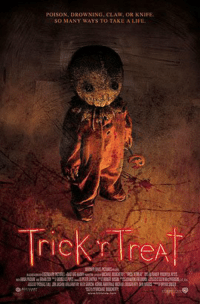 """Bad, Candy, and Definitely: NING, CLAW, OR KNIFE.  POISON  SO MANY WAYS TO TAKE A LIFE  reA So, like I said, today I'll be doing a few honorable mentions, and we'll get to my number 1 favorite Halloween movie tomorrow.  Trick 'r Treat: An anthology film of four inter-connected stories taking place on Halloween night.  The stories themselves aren't the greatest ever, but this movie is DRENCHED in Halloween.  Every singe frame is filled with pumpkins, costumes, candy, everything you think of when you hear """"Halloween"""".  And the monster for this movie is actually a pretty cool idea.  Zombieland/Shaun of the Dead: I decided to tie them, since I couldn't justify to myself putting one on the list above the other.  They're two hilarious zombie movies, and get funnier every time!  Bram Stoker's Dracula/Mary Shelly's Frankenstein: I know that strictly speaking, these aren't good movies, but there are a lot of good performances and set designs in them, and some of the changes made for them are intriguing enough for at least one look.  Hack-O-Lantern: Ok, now HERE'S a movie that's just unabashedly awful.  Honestly, I can't even do this movie justice to describe it.  If you want to know more, check out the Cinema Snob review, but if you're a fan of bad movies, this a true gem.  The Simpsons """"Treehouse of Horror"""": As of this writing, there are currently 27 specials, more than an entire season.  Obviously, some are better than others, and in recent years, the specials have been less """"Halloween-y"""" than others, but they're still interesting to watch.  If I had to pick a favorite, it'd definitely be Treehouse of Horror III.  Alright, now come back tomorrow for my absolute favorite Halloween movie!  Wanna see the previous Halloween favorites? They can be found here: https://www.facebook.com/ETNAIB/photos/?tab=album&album_id=975076839281018  ~Van Helsing"""