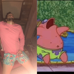 My buddy passed out drunk last weekend. I thought he looked familiar.: ninogsisq My buddy passed out drunk last weekend. I thought he looked familiar.