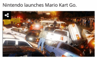 It's only the beginning.: Nintendo launches Mario Kart Go. It's only the beginning.