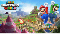Dank, Nintendo, and Mario: NINTENDO  WORLD Universal Studios Japan's SUPER NINTENDO WORLD is coming!  This immersive area features expansive, multilevel environments and attractions based on Mario and other Nintendo characters and worlds.  http://Ninten.do/61888z3IQ