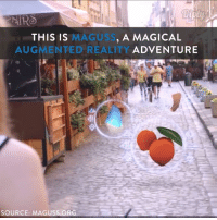 The next huge phenomenon in virtual reality!: NIRO  MAGUS  A MAGICAL  THIS IS  AUGMENTED REALITY ADVENTURE  SOURCE:  MAGUSS ORG The next huge phenomenon in virtual reality!