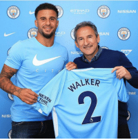 DONE DEAL: ManCity have completed the signing of Kyle Walker for £50m: NISSAN  ETIHAD  TRWAYS  SAN  NISS  LKER  TIRE  NEXEN  TIRE  NIS DONE DEAL: ManCity have completed the signing of Kyle Walker for £50m