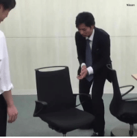 Dank, Nissan, and Office: Nissan These office chairs park themselves with just a clap... 👏😱