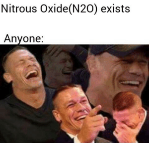 Tumblr, Blog, and Com: Nitrous Oxide(N20) exists  Anvone newtonpermetersquare:  Laughing gas