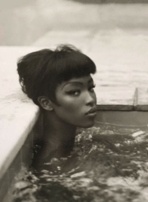 Tumblr, Naomi Campbell, and Blog: niuniuyork: Naomi Campbell by Steven Meisel for Vogue Italia, 1989