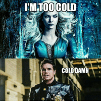 Arrow, Justice League, and The Flash: NM.TOO COLD  COLDDAMN Call the flash and vibe, man. ~Green Arrow