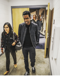 Getting ready to finish up strong Denver! Backstage with the great Ali Wong & Chris Spencer (not pictured). TotalBlackOutTour Denver bellcotheatre: NMA Getting ready to finish up strong Denver! Backstage with the great Ali Wong & Chris Spencer (not pictured). TotalBlackOutTour Denver bellcotheatre