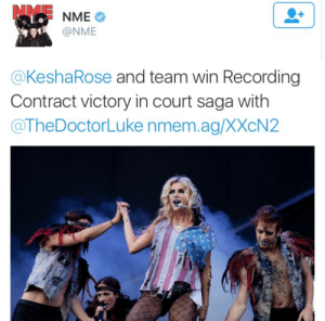 Clock, Fucking, and God: @NME  @KeshaRose and team win Recording  Contract victory in court saga with  @TheDoctorLuke nmem.ag/XXcN2 piratequeennina:  espikvlt:  snatchingyofav:  KESHA WON THE CASE 🎉🎊🎈  OH MY GOD. YES, BABY, YES. I AM SO HAPPY. I WAS THERE FOR HER WHEN TIK TOK CAME OUT AND EVERYONE TREATED HER LIKE SHIT AND I AM HERE FOR HER NOW. YES YES YESSSS  But like let's talk about this for a minute? She just fucking won a major court battle against her abuser, like you go babe, tick tock round the clock and brush your teeth with a bottle of jack. She also won against the people who kept her abuser in a position of power over her. Like this is such a big deal. She gets to make music again and that's awesome, but she's a fucking rockstar for a whole host of other reasons.