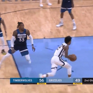 Ja Morant's latest victim: Robert Covington!  https://t.co/ryu6PTxEGi: NNESOTA  33  56  BONUS  49  TIMBERWOLVES  GRIZZLIES  2nd Qtr  BONUS Ja Morant's latest victim: Robert Covington!  https://t.co/ryu6PTxEGi