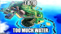 [SUN/MOON SPOILER] I can see the reviews coming: nngf  TOO MUCH WATER  i [SUN/MOON SPOILER] I can see the reviews coming