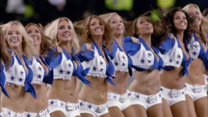 No. 37: The @dallascowboys Cheerleaders  📺: #NFL100 Greatest Game Changers on @NFLNetwork https://t.co/oQL0ckdBik: No. 37: The @dallascowboys Cheerleaders  📺: #NFL100 Greatest Game Changers on @NFLNetwork https://t.co/oQL0ckdBik