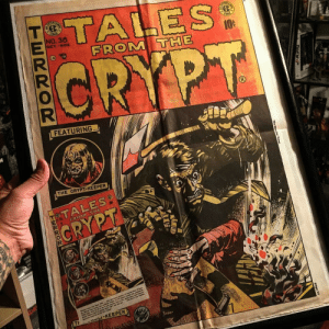 Crypt: NO.38  OCT-HOV.  FROM  FEATURING  THE CRYPT-KEEPER
