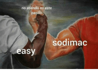 Easy,  No, and Este: no atiendo en este  pasillo  sodimac  easy