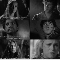 3.15 is such an underrated episode but it has so many good moments, like why ? aha - - - [_tags_] bellarke bellarkereunion bellarkehug bellamyblake clarkegriffin wanheda heda reshopheda clexa alyciadebnamcarey elizataylor bobmorley love the100 linctavia octaviablake ravenreyes hedalexa nian tvd thevampirediaries delena stelena klaroline klamille theoriginals otp lincolnkomtrikru javen: No... But you'll be covering us the entire time,  and I trust you  You're not the only one here trying to save  someone you care about  Her friends are her weakness, start with Bellamy Blake 3.15 is such an underrated episode but it has so many good moments, like why ? aha - - - [_tags_] bellarke bellarkereunion bellarkehug bellamyblake clarkegriffin wanheda heda reshopheda clexa alyciadebnamcarey elizataylor bobmorley love the100 linctavia octaviablake ravenreyes hedalexa nian tvd thevampirediaries delena stelena klaroline klamille theoriginals otp lincolnkomtrikru javen