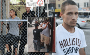 Food, Jail, and Life: NO  CELLULAR  PHONES  SURF smarter-than-the-republicans:  theconcealedweapon:   urbansaseko:  4mysquad:  Man Imprisoned After Filming Eric Garner's Death, Refusing to Eat, Rat Poison Found in Jail Food 22-year-old Ramsey Orta, the young man who filmed the NYPD killing Eric Garner, was arrested shortly after on trumped up charges. He has since been locked up at the notorious Rikers prison in New York. It was reported by the New York Post last month that 19 different inmates were denied medical testing after bluish green pellets were found in their food. The prison admitted that these pellets were rat poison, but failed to give the inmates medical attention, and failed to offer any kind of explanation as to why the prison's food was tainted with rat poison. Orta was not the only person to be targeted for filming the Garner murder either, Taisha Allen, who also filmed the death of Eric Garner, is speaking out and saying that her involvement with the case has put a target on her back with the NYPD. Now, we are witnesses of how a man who stood up for our rights, for our equality, a man who tries to prove that for every life deserves to be protected, under pressure of a police state tyranny. He used social media to achieve justice, we must continue his work. #RamseyOrta #EricGarner #NYPD boooost dat stuf    booooooooooooooost   This means that people who film the police are heroes who risk their lives to keep people safe from violent criminals, which is exactly what police worshippers pretend that the police do.   So we live in a time where prisons can deliberately poison the inmates' food, openly admit to doing it, and then nothing is done about it.
