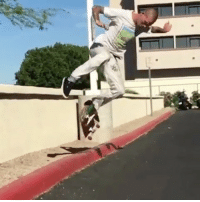 Memes, Physics, and 🤖: No curb is safe with @the__provider around. Defying the laws of physics, something only attainable by riding toy machine