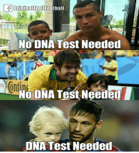 Memes, Test, and 🤖: NO DNA Test Needed  ont  NO DNA Test Neeaed  NA Test Neede This! 😂😂😂⠀