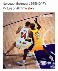 Facts, Memes, and Kobe: No doubt the most LEGENDARY  Picture of All Time  MEMES  SCALA  24 Facts 👀 2K knows Scalabrine > Kobe 🔥😂 - Follow @_nbamemes._