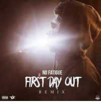 "Memes, 🤖, and Day: NO FATIGUE  R E M I X !!!NEW!!! @no_fatigue - ""FIRST DAY OUT (REMIX)"" - shot by @azaeproduction ComingSoon NoFatigue FGEshit"