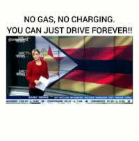 "Energy, Memes, and News: NO GAS, NO CHARGING  YOU CAN JUST DRIVE FOREVER!!  @unsewest  SABC 、  NEWS  SABC  NEWS  2754 ▲069  COVERY 135 12O83  FIRSTRAND 8331 1.04 Regrann from @unsexiest - Follow 👉🏽 (@unsexiest) 🙃 Wow 🤯 Wait so, Sangulani Chikumbutso created perprtual energy-motion...the property of an ""imaginary device"" that, once started, continues to move forever with no input of energy?? How sway 😫👏🏽👏🏽👏🏽✊🏽✊🏽 Update hm: Trump Scoops Top Zimbabwean Inventor Maxwell Chikumbutso... ""The United States government has given Zimbabwe's prolific inventor Maxwell Chikumbutso a new home in its populous state of California. Chikumbutso is the founder of Saith Holdings Inc. under which he made headlines for his serial innovations which include the world's first ever green power generator which can produce electricity using radio frequencies, an electric powered car which doesn't consume fuel, a multi-fueled helicopter and many more."" - Be safe my friend ✊🏽 - regrann"