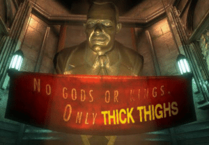 Mm thICC: No GODS OR KINGS.  O NLY THICK THIGHS Mm thICC
