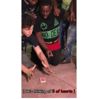 Memes, Wshh, and Hearts: NO-  (He's thinking of 3 of hearts) JuliusDein with some street magic! 👀😳 @JuliusDein WSHH