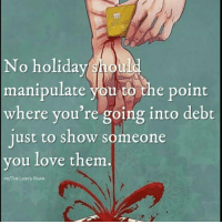 Love is the key. Rp @donnyarcade 4biddenknowledge: No holiday shoul  manipulate you to  the point  where you're going into debt  just to show someone  you love them  /THE LIONS ROAR Love is the key. Rp @donnyarcade 4biddenknowledge