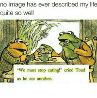 "Memes, 🤖, and Toad: no image has ever described my life  quite so well  ""We must stop eating!"" cried Toad  as he ate another. 😂😂😂 MexicansProblemas"