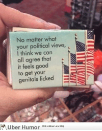 "Omg, Tumblr, and Blog: No matter what  your political views,  I think we can  all agree that  it feels good  to get your  genitals licked  oUber Humor Bob Loblaw Law BIo <p><a href=""http://omg-images.tumblr.com/post/152333339017/my-friend-brought-my-wife-back-a-magnet-from"" class=""tumblr_blog"">omg-images</a>:</p>  <blockquote><p>My friend brought my wife back a magnet from Washington D.C.</p></blockquote>"