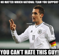 NO MATTER WHICH NATIONAL TEAM YOU SUPPORT  GISOGGERMEMEZ  YOU CAN'T HATE THIS GUY! King!  [ Credit to FIFA World Cup 2014 Meme ]