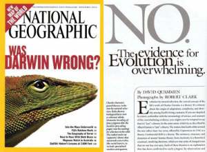 "iopele:  madsciences:  hectocotyli-everywhere:  aspiringdoctors:   A classic.  DYING   Clickbaiting level: National Geographic  this added 5 years to my life  this watered my crops and helped them to evolve to produce a higher yield  : NO  NATIONALGEOGRAPHIC.COM/MAGAZINE NOVEMBu 100  NATIONAL  GEOGRAPHIC  WAS  DARWIN WRONG? Evoluionis  Theevidence for  Overwhelming  By DAVID QUAMMEN  Photographs by ROBERT CLARK  volution by natural selection, the central conepe of the  life's work of Charles Darwin, is a theory, t's a theory  Charles Darwins  grand theory, evel  tion by matural selee  tion, links diverse  bielogical facts inte  a coherent whole  Demestic breeding of  fancy pigrans hike the  lacobin (preceding  pags) was his analogy  for selection in the wild  The naked mole rar  (epposite) shows tha  mammals can evelve  ike social insects, to  about the origin of adaptation, complexity, and diver  sity among Earth's living creatures If yeu are skeptical  by nature, unfamiliar with the terminology of science, and unnare  of the overwhelming evidence. you might even be tempted to say  that it's ""ju""a theory, In the same sense, relativity as described by  nto the Maya Underworld 3  Fijs Rainbow Reefs s  The Geography of Terror 7  Albert Einstein is ""ju a theory The noticon that Farth orbits around  the san rather than vice versa, offered by Copernicus in 1543, is a  theory, Continental drift is a theory The existence, structure, and  dynamics of atomst Momic theory, Even electricity is a theoretical  construct, involving electrons, which are tiny units of charged mau  that no one has ever seen. Each of thewe theories is an explanation  that has been confirmed to such a degree, by observation and  Nose to Nose With Sloth Bears s  Mosoon Watch in Australia  uSA: Nature's Lessons at 7,000 Feet  ieclde specialized  wurkers and queen  THE WORLD iopele:  madsciences:  hectocotyli-everywhere:  aspiringdoctors:   A classic.  DYING   Clickbaiting level: National Geographic  this added 5 years to my life  this watered my crops and helped them to evolve to produce a higher yield"