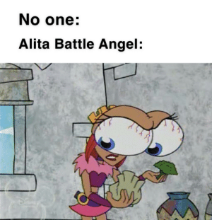 Nostalgia, Angel, and Old: No one  Alita Battle Angel:  -f Use nostalgia to revive old formats
