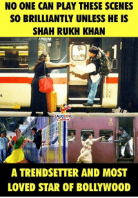 Birthday Wishes To #BollywoodKing aka #ShahRukhKhan :): NO ONE CAN PLAY THESE SCENES  SO BRILLIANTLY UNLESS HE IS  SHAH RUKH KHAN  LAUGHING  42  A TRENDSETTER AND MOST  LOVED STAR OF BOLLYWOOD Birthday Wishes To #BollywoodKing aka #ShahRukhKhan :)