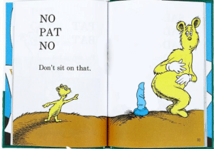 Jealous, Rude, and Shit: No  PAT  No  Don't sit on that.  31 c-bassmeow:  cloesy:  Just came back to post this  I'm pat and I'd kick that kid in the face don't tell me what I can and cannot sit on   That shit is shaped so perfectly too like why is that kid so jealous  Rude