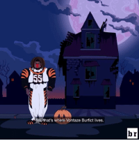 A rookie sensation and a menacing linebacker has GridironHeights on edge this Halloween. New episode drops tomorrow!: No, that's where Vontaze Burfict lives.  br A rookie sensation and a menacing linebacker has GridironHeights on edge this Halloween. New episode drops tomorrow!