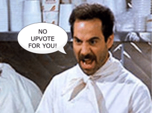 Memes, Fun, and You: NO  UPVOTE  FOR YOU! Memes are fun