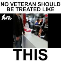 No veteran should be treated like this. Support the troops 🇺🇸❤️ (via @soflo) WSHH: NO VETERAN SHOULD  BE TREATED LIKE  THIS No veteran should be treated like this. Support the troops 🇺🇸❤️ (via @soflo) WSHH