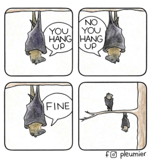 Yout, You, and Fine: NO  YOUT YOU  HANGİ HANG  Up  Up  FINE  f@ pleumier Hanging up [OC]