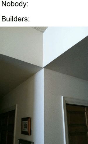 Dank Memes, Eye, and Twitches: Nobody:  Builders: *eye twitches*