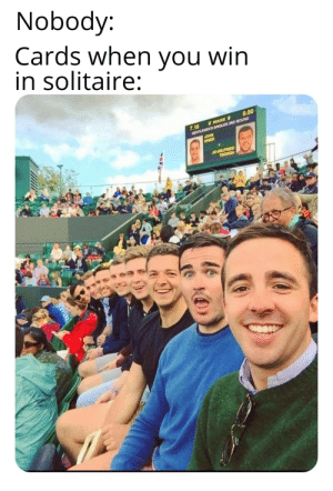 30-minute-memes:Most satisfying: Nobody:  Cards when you win  in solitaire:  0.00  ROLEX  7.16  GENTLEMENS SINGLES 3RD ROUND  JOHN  ISNER  JO-WILFRIED  TSONGA 30-minute-memes:Most satisfying